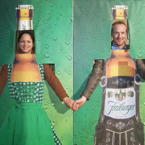 Ganter Oktoberfest Aufsteller