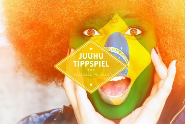 Juuhu-Tippspiel zur Fußball-WM 2014