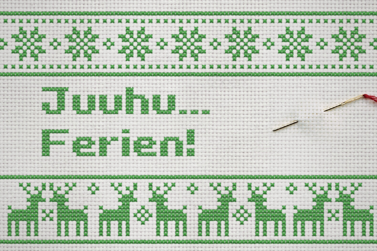 Juuhu … wir haben Weihnachten zu!